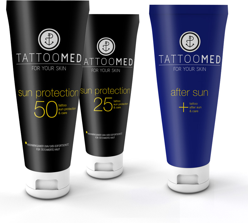 TattooMed Sun Protection Tuben